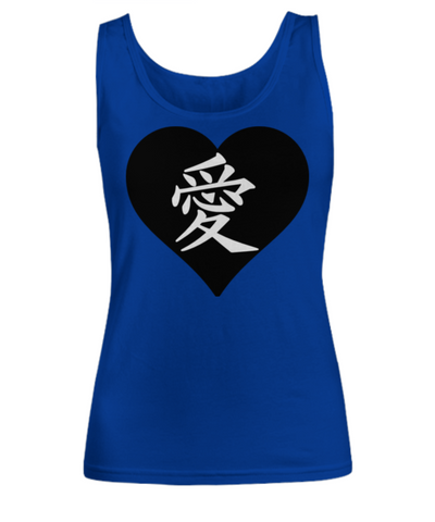 Japanese Love Heart T Shirt