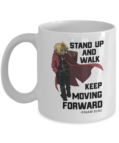 Edward Elric Quote Mug, White