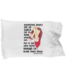 Yoshioka Futara Quote Pillowcase