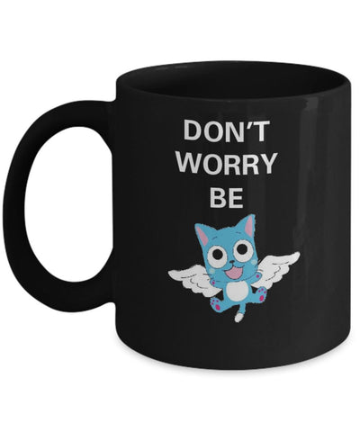 Fairy Tail Anime Series Mug - Happy the Cat. Great gift for anime fan