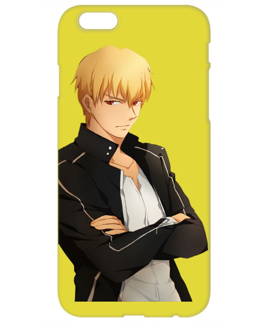 A Cool Yellow Gilgamesh Phone Cover