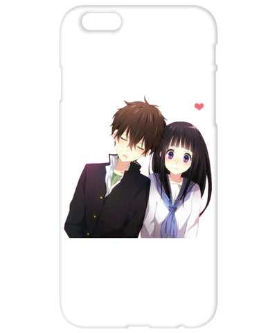 Phone Case With a Super Cute Anime Couple