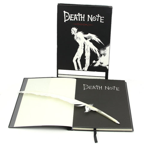 SOSW-Fashion Anime Theme Death Note Cosplay Notebook New School Large Writing Journal 20.5cm*14.5cm