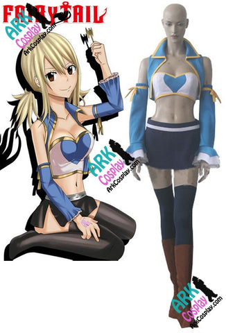 Lucy Heartfilia Costume - Fairy Tail Lucy Heartfilia Cosplay After Seven Years Fairy Tail Cosplay Costume