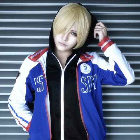 Yuri on Ice Cosplay Costume Clothing Men Women Japanese Yuri!!! on Ice Yuri Plisetsky Carnaval Halloween Anime Hoodie Jacket