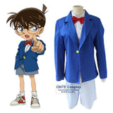 Detective Conan Cosplay Costumes Children Conan Edogawa Kid Clothing Fancy Adult School Uniform for Halloween Masquerade