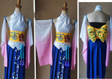 Final Fantasy X Yuna Cosplay FF 10 Costume