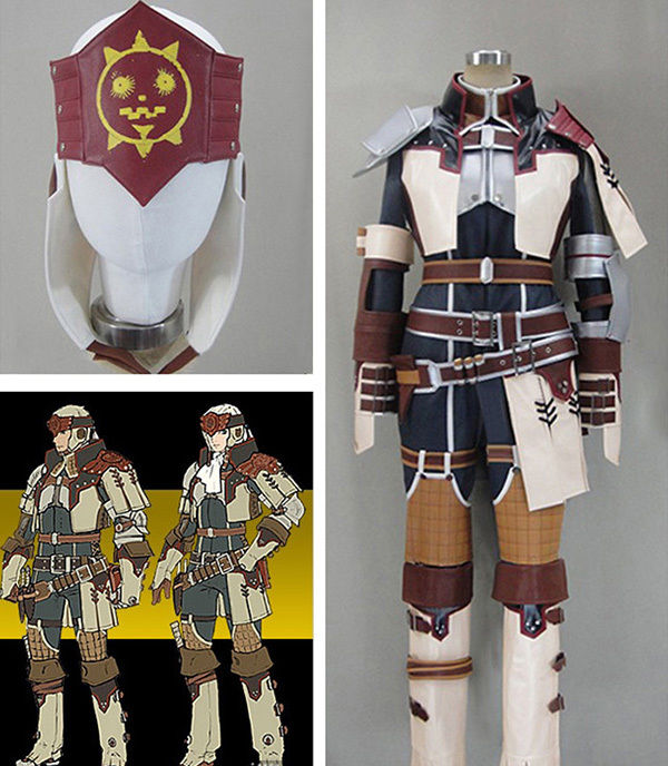 Monster Hunter Cosplay Outfit Uniform Adult Men Halloween Anime Cosplay  Costume