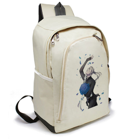 Anime YURI!!! on ICE Cosplay Yuri Plisetsky Cos 2017 new casual cartoon student campus backpack child gift