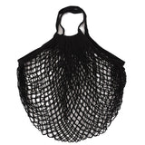 1PC Environmental Protection Reusable Fruit Shopping Bag String Grocery Shopper Cotton Tote Mesh Woven Net Bag