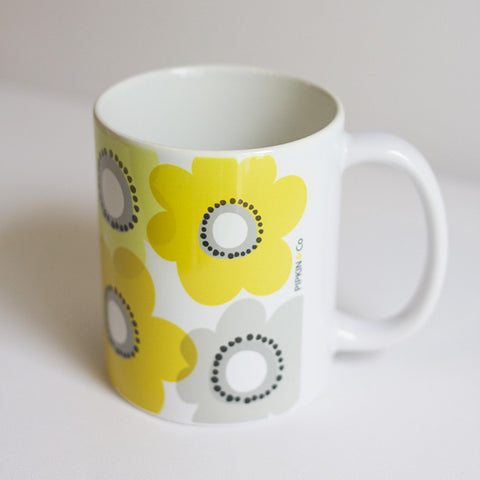 Pipkin&Co Mug - Yellow Flower