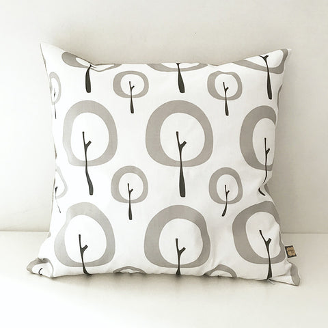 Pipkin&Co Scandi Cushion - Grey Tree