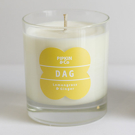 DAG Lemongrass & Ginger scented candle