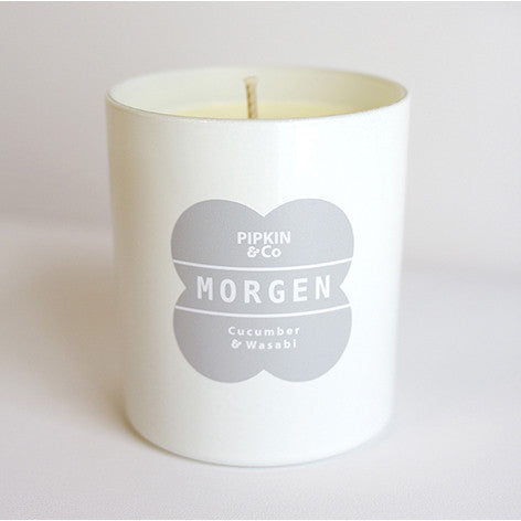 MORGEN Cucumber & Wasabi scented candle