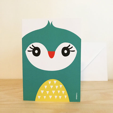 'BIRD' greetings card by Pipkin&Co