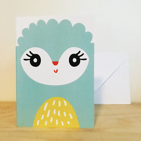 'LAMB' greetings card by Pipkin&Co