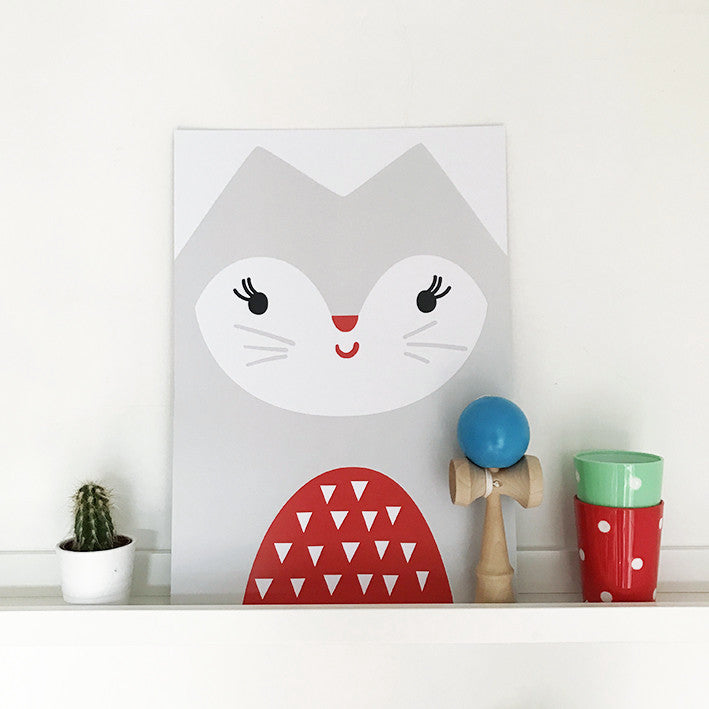 'CAT' print by Pipkin&Co