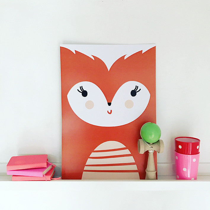 'FOX' print by Pipkin&Co