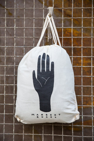 """in the beginning"" cotton bag"