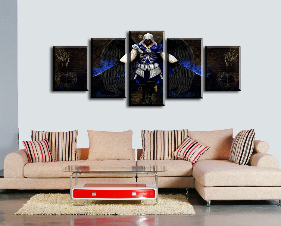 5 PCS Canvas Prints Set