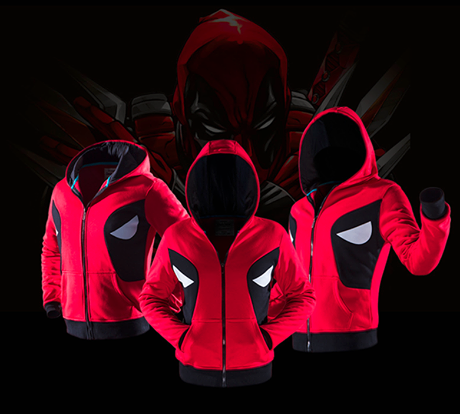 Deadpool Hoodie winter coat jacket