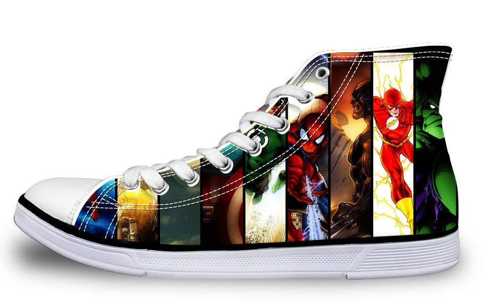 Comics Custom Made Shoes