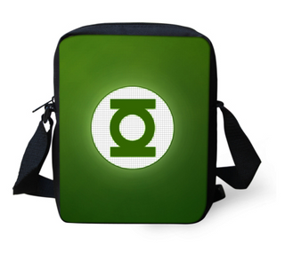 green lantern side Bag