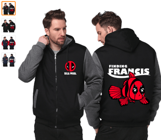 Custom Made Deadpool Zip Hoodie