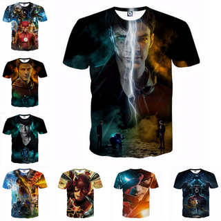 The Flash Season 3 Custom Made 3D T-Shirt - SAVE 35% ONLY TODAY