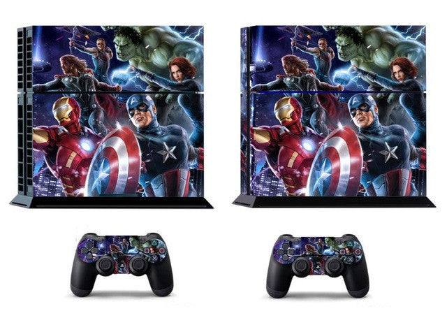 The Avengers  Skin For Sony Playstation 4 Console+2 controller