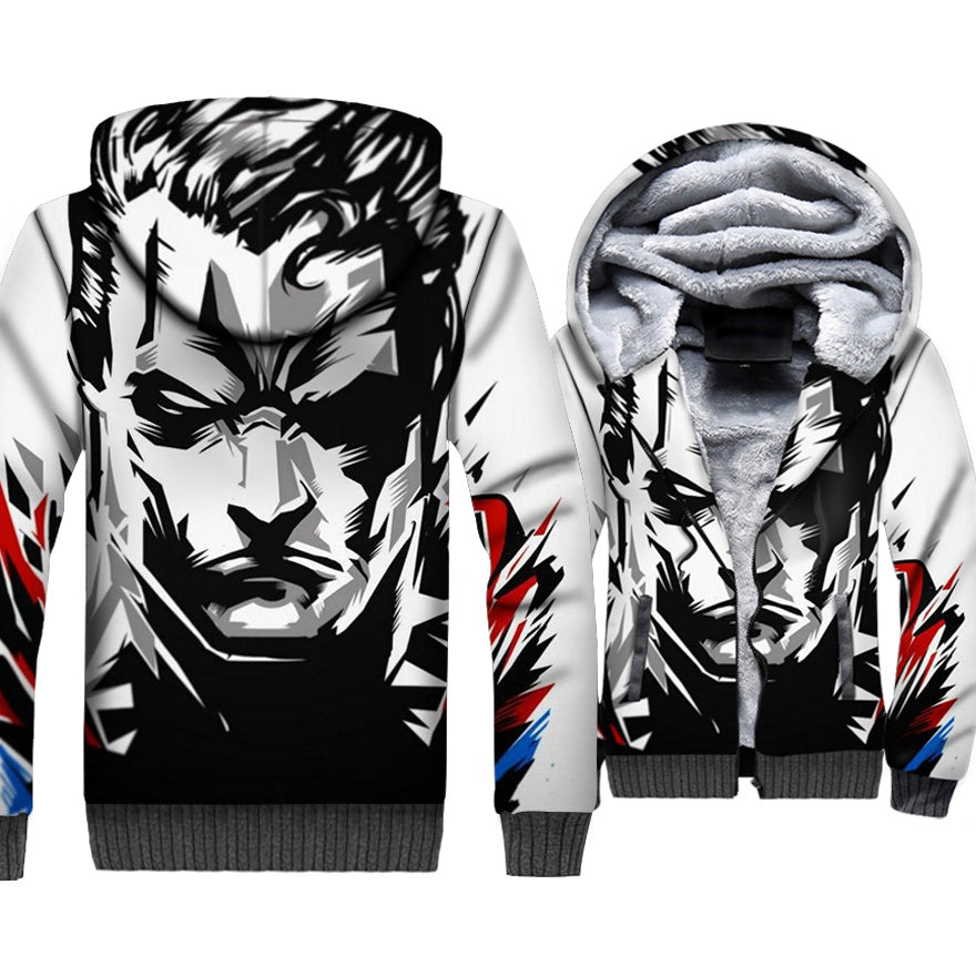 3D Thicken Fleece Jacket