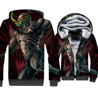 Venom 3D Thicken Zipper Jacket