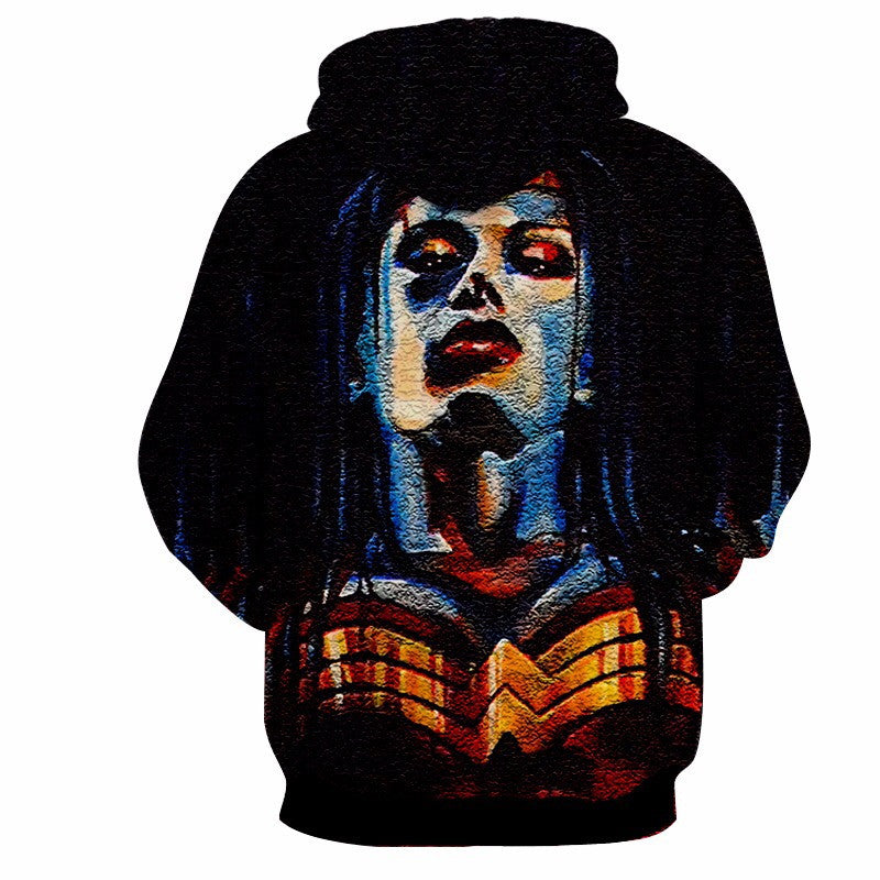 Save 40% -  CUSTOM MADE WONDER WOMAN HOODIE