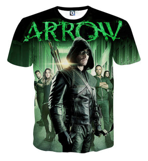 Arrow Custom Made 3D T-Shirt - SAVE 30% ONLY TODAY -