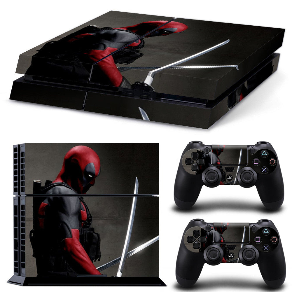 Skin Stickers For Sony Playstation 4