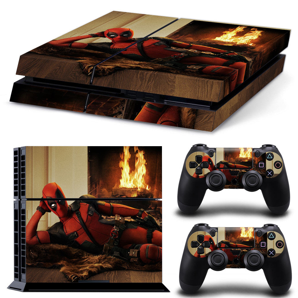 12 Types of  Skin Stickers For Sony Playstation 4 Console and 2 Controllers - Rephael shop