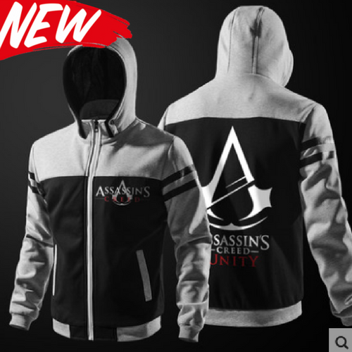 Custom Made Assassin's Zip Hoodie