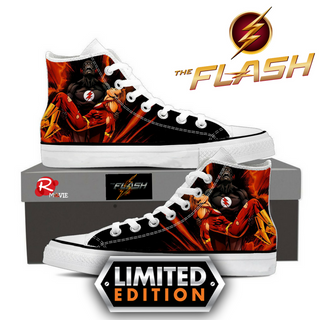 Collector's Edition -  Only 100 pairs Made  - Custom Made Flash Shoes