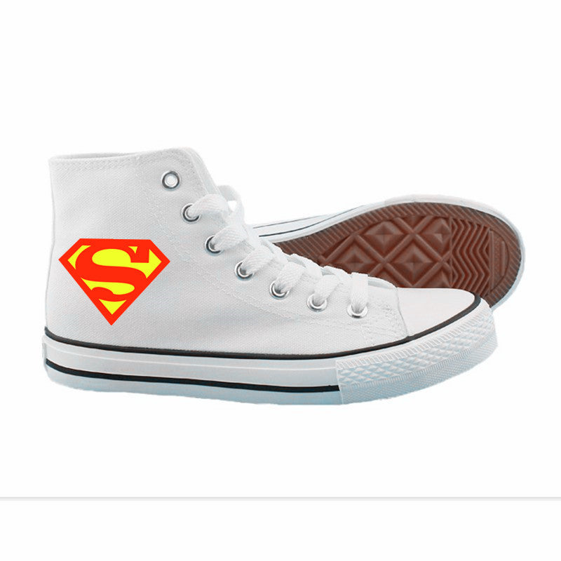 NEW Superhero SHOES UNISEX SNEAKERS STYLE