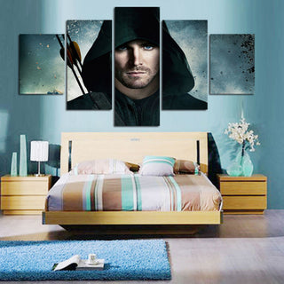 Arrow 5 PCS Canvas Prints Set