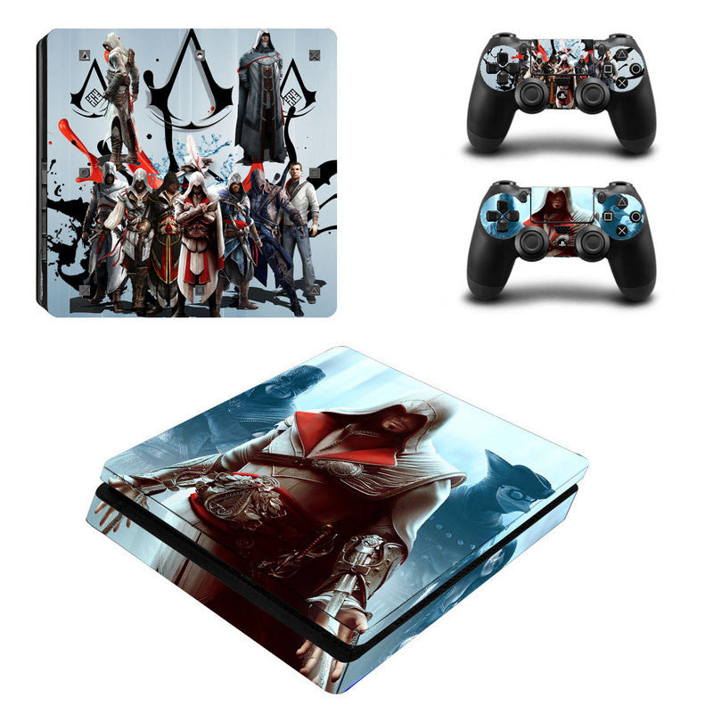 SKIN STICKER FOR SONY PS4 SLIM