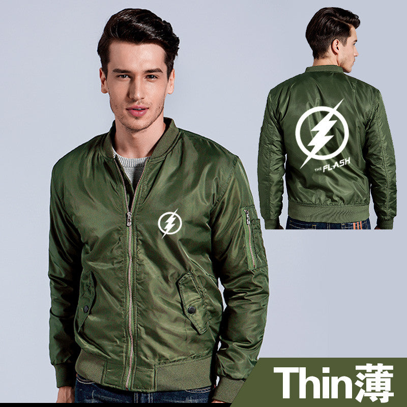 Custom Made Flash zipper thicken jacket