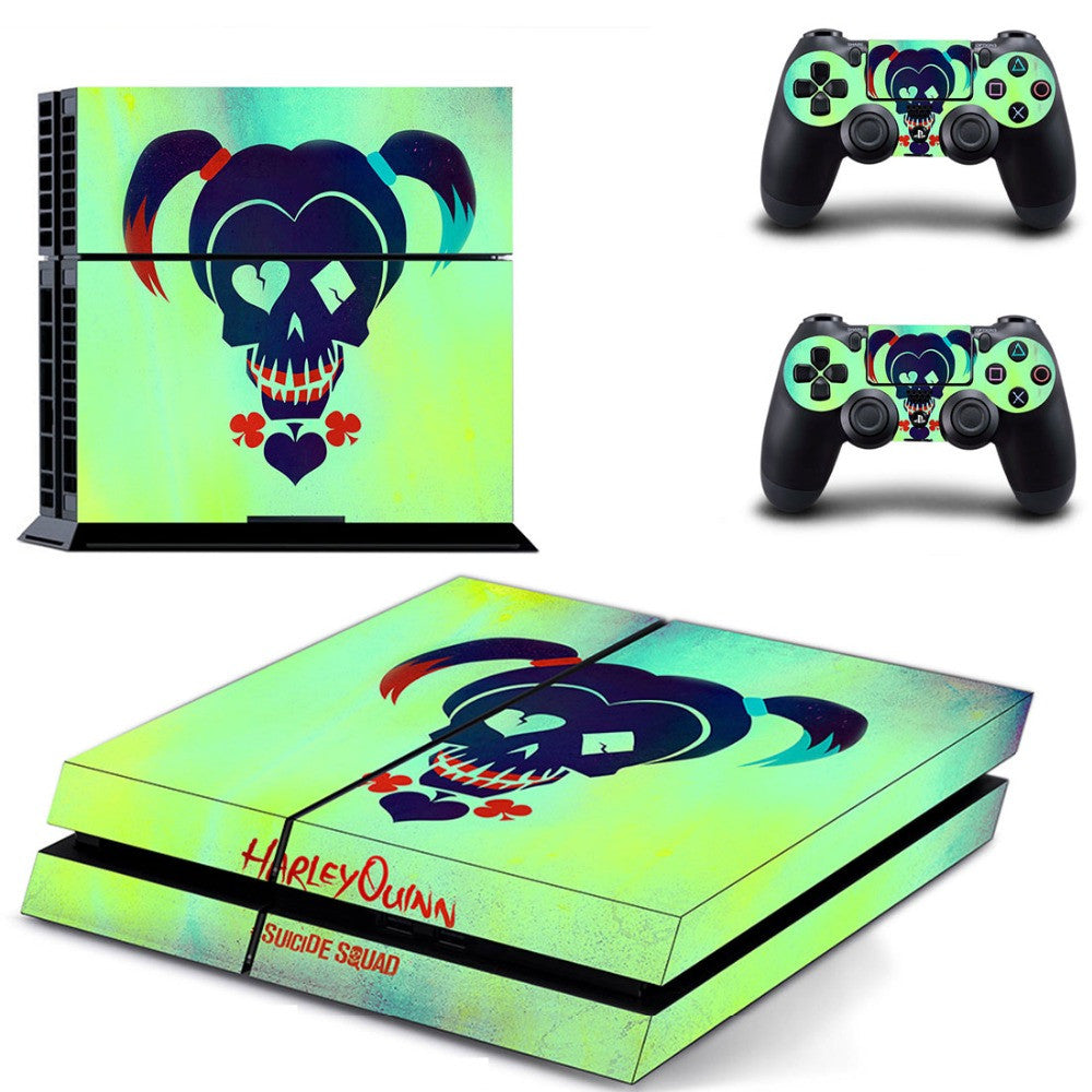 Harley Quinn #2 PS4 Skin Sticker Decal Sticker For PS4 PlayStation 4 + 2 Controller Skins Brand New Cool Protected PS4