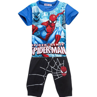 New Children Clothing sets Spider Man