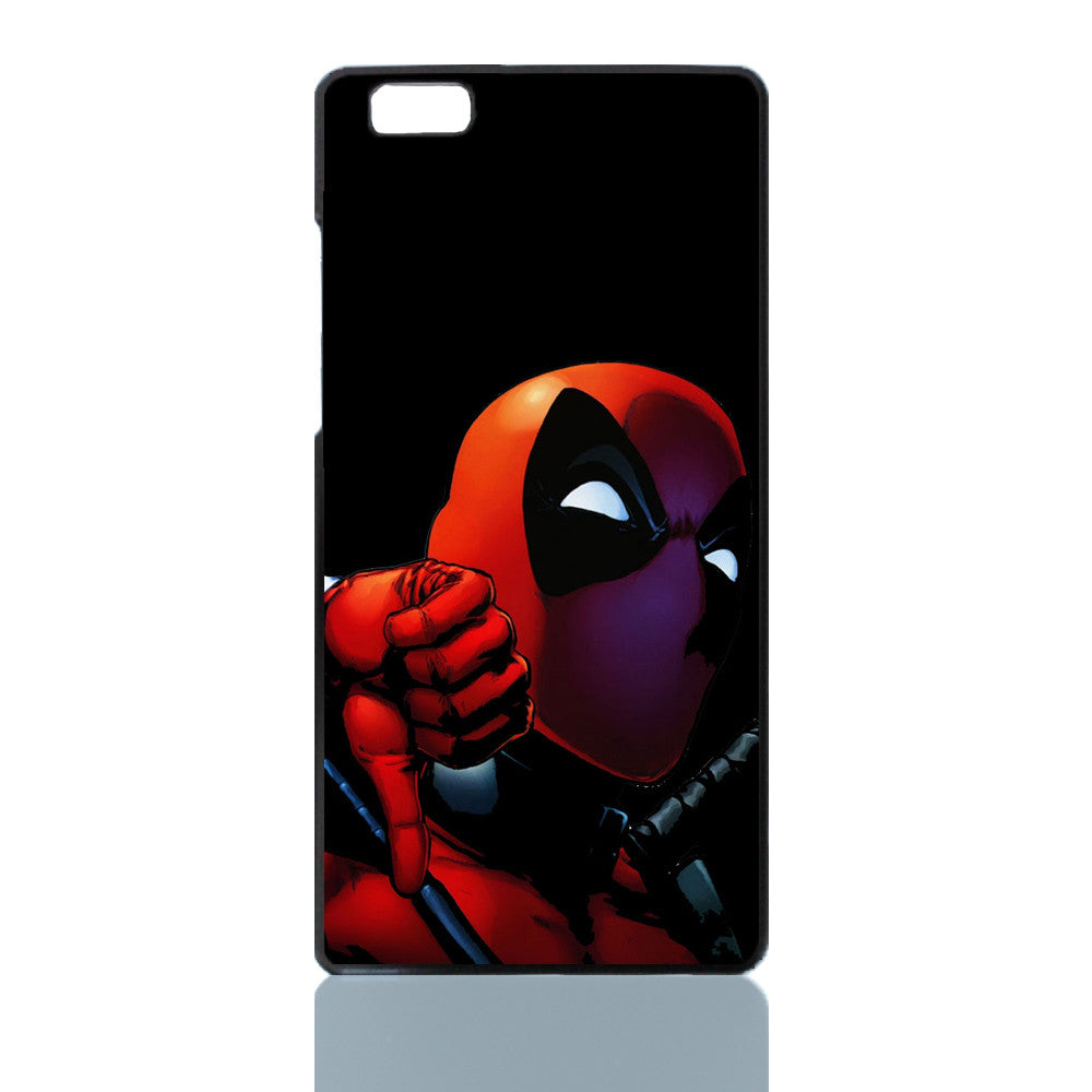 Phone Case  PC Black Hard Cover back cover For Huawei Asend P8