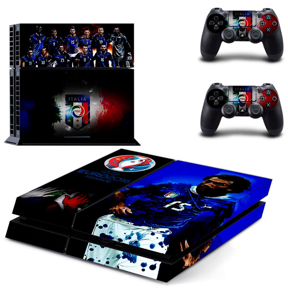 SKIN STICKER FOR SONY PLAYSTATION 4