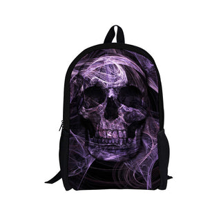 Children Boys Cool Backpacks Schoolbag Punk Skull Printed Fashion School Backpacks for Little Students Softback Kids Backpacks