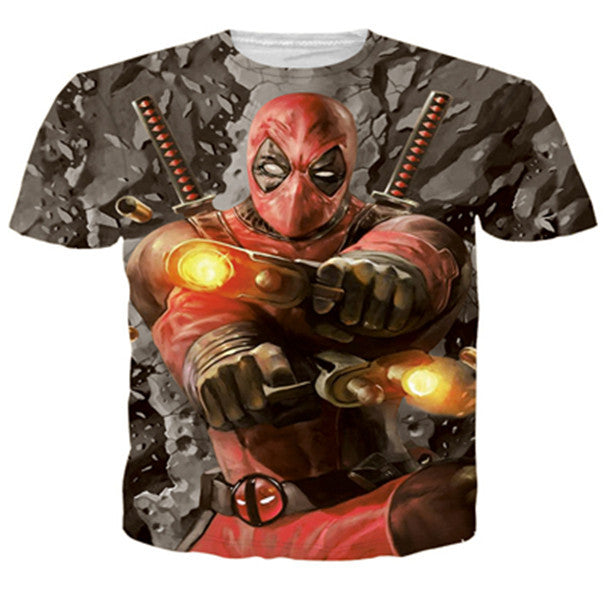 3D Deadpool T-shirt - Rephael shop