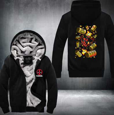 Hot New Fleeces Zip Hoodie