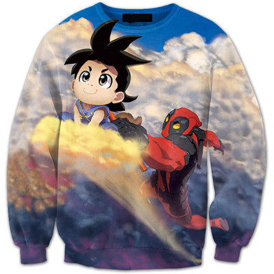 CUSTOM MADE DEADPOOL 3D SWEATSHIRT